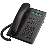 Cisco CP-3905 Unified SIP Phone 3905, Standard Handset, Charcoal