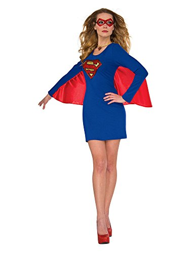 Rubie's Costume 840029-S-M Co Women's Dress, Supergirl, Small-Medium, Small/Medium]()