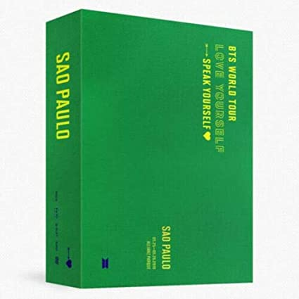 BTS WORLD TOUR LOVE YOURSELF:SPEAK SAO PAULO DVD 2 DISC DVD CD + ...