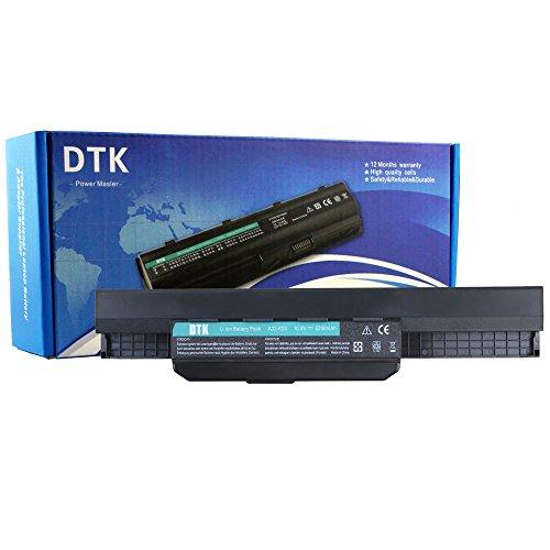 DTK® Ultra Hochleistung Notebook Laptop Batterie Li-ion Akku für ASUS A32-K53 A42-K53 K43JC, K43JM, K43JS, K43JY, K43S, K43SC, K43SD, K43SE, K43SJ, K43SR, K43SY, K43SV, K43T, K43TA, K43U, K53 Series, K53B, K53BY, K53E, K53F, K53J, K53JA, K53JC, K53JE, K53JF, K53JG, K53JN, K53JS, K53JT, K53S, K53SA, K53SC, K53SD, K53SE, K53SJ, K53SN, K53SV, K53T, K53TA, K53U, X43 Series, X43B, X43BY, X43E, X43J, X43JE, X43JF, X43JR, X43JX, X43S, X43SJ, X43SR, X43SV, X43T, X43U, X43, A83,A84, K54, K84, P43, P43S, P53, X44, X53, X53S , X54, X84, X84H - 12 Monate Garantie [ 6-cell 10.8v 5200mah ]