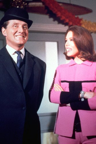 The Avengers Diana Rigg Patrick Macnee Color Poster