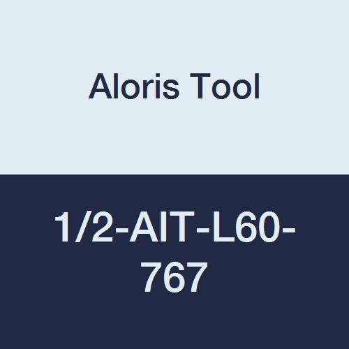 Aloris Tool 1//2-AIT-L60-767 Partial Profile Internal Carbide Threading Insert 60 Degree