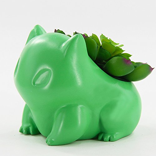 Decorative Planters - Green Frog Planter for Cactus,Live Succulent,Mini Plant,Indoor Succulent,Gift for Family