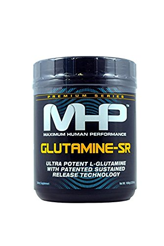 Glutamine SR, L-Glutamine, 1000 gm, Glutamine-SR, From MHP by MHP