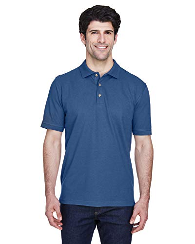 A Product of UltraClub Men's Classic Piqué Polo -Bulk Discount ()
