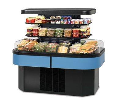 Federal Industries Specialty Display Island Self-Serve Refrigerated Merchandiser, 60