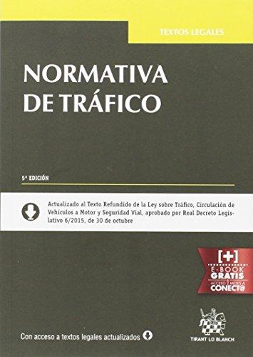 Descargar Libro Normativa De Tráfico 5ª Edición 2015 Tomás Quintana López