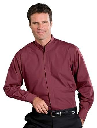 ed garments men 39 s big and tall banded collar long sleeve
