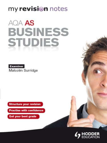 Amazon com: My Revision Notes: AQA AS Business Studies: My