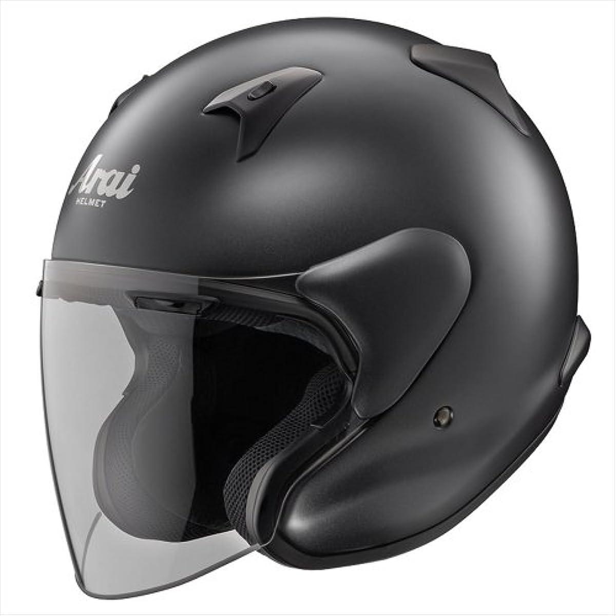 [해외] 아라이 오토바이 헬멧 제트 MZ-F 플랫 블랙L 59-60CM