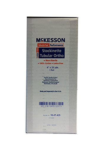 Medi-Pak Performance One Roll Cotton Stockinet Soft Stretch (Roll Cotton Stockinette)