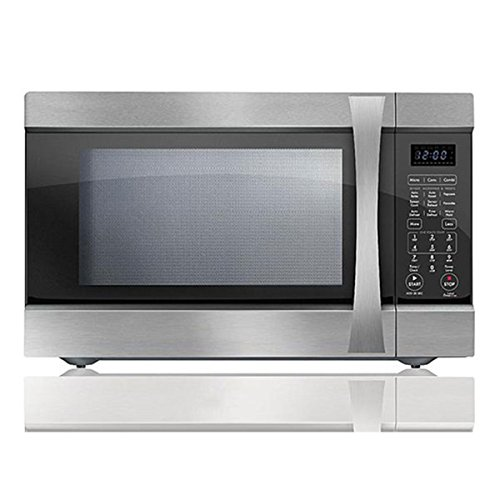 Chef Star CS75153 1.5 cu.ft. 1200 watts w/ Convection Countertop Microwave Stainless Steel (Certified Refurbished) by Chef Star