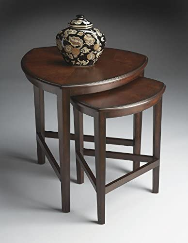 Butler Finnegan 24 3 4 Wide Chocolate Wood Nesting Tables