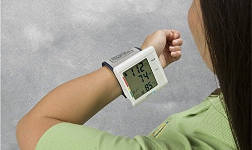 Lumiscope Talking Wrist Blood Pressure Monitor, 1 Pound by Lumiscope