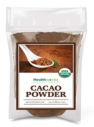 Healthworks Cacao Powder Organic 3 Pound (The Best Baked Beans On The Planet)