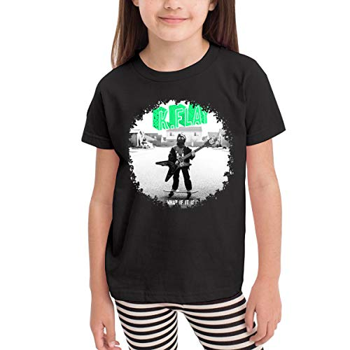 WYeter K.Flay What If It is Children's Classic Short Sleeve T-Shirt Black 2T