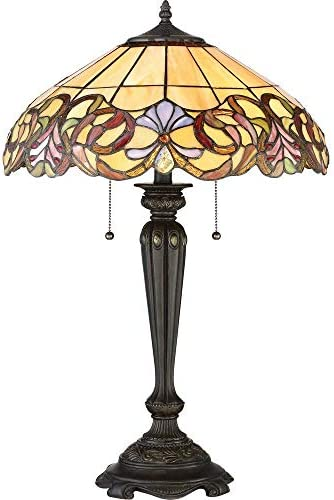 Quoizel TF2802TIB Blossom Tiffany Table Lamp