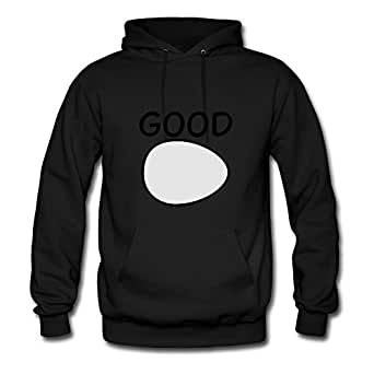 Good Egg Black Women Vogue Hoody Shirt Custom X-large