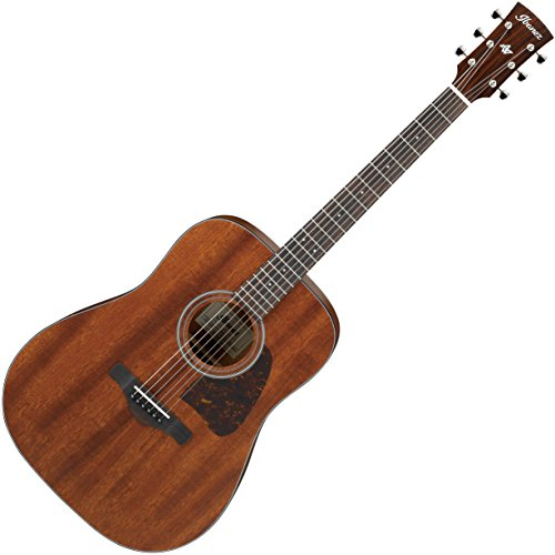 Ibanez Artwood Vintage Thermo Aged AVD9MH Dreadnought Acoustic Guitar, Solid Mahogany Top, (Mahogany Top)
