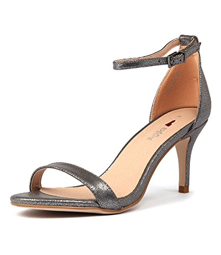 Shoes Womens I LOVE SMOOTH Connie BILLY Heels Womens PEWTER HF7axqYW7X