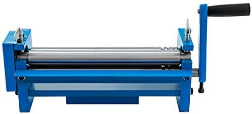 Frantools Manuelle Drahtzylinder Rohre Walzenpresse 320mm Sr 320j Stahlblechwalzmaschine Radius 32mm Metallblechbiegemaschine Baumarkt