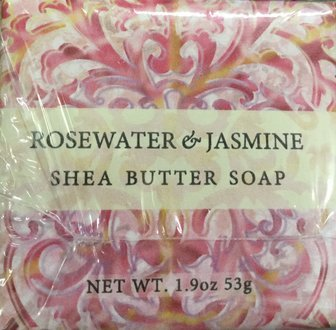 (Greenwich Bay Trading Company 1.9oz Soap Bulk Packs of 12 (Rosewater Jasmine))