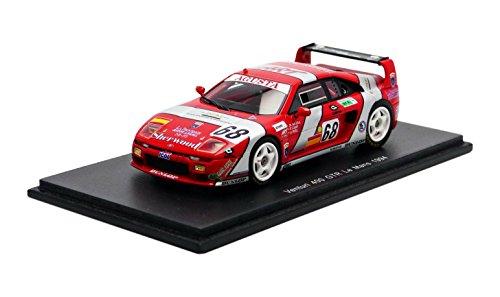 Spark S2283 – Venturi 400 GTR – Le Mans 1994 – Maßstab 1/43 – Rot/Silber