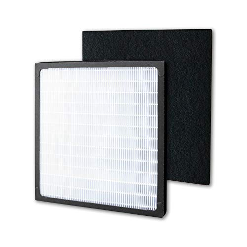 Air Purifier HEPA Filter and Pre Filter for Idylis D Replacement AC-2118 AC-2123 IAP-10-280, Model # IAF-H-100D, 1 HEPA Filter + 2 Carbon Filter