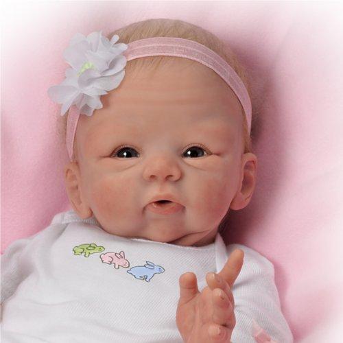 Tasha Edenholm Snuggle Bunny Lifelike Poseable Baby Doll