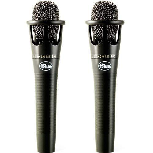 Blue enCore 300 Black Vocal Condenser Microphone 2-Pack
