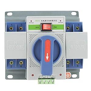 Interruttore automatico doppio di alimentazione elettronica doppio dell'interruttore di trasferimento 220V 63A 2P (63A… 41V h3tFgSL. SS300