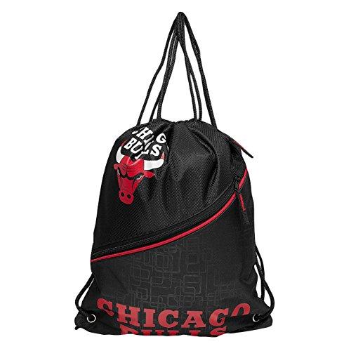 Forever Collectibles Mujeres Accesorios / Bolsa NBA Diagonal Zip Drawstring Chicago Bulls