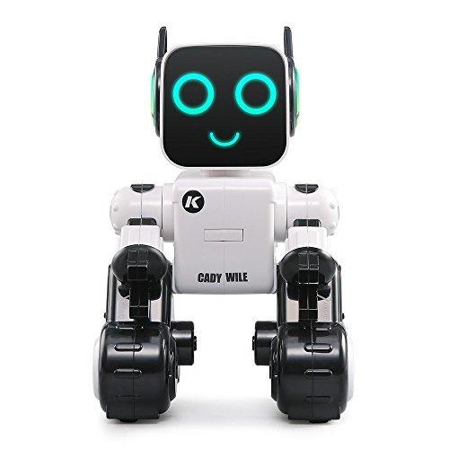 Hi-Tech Wireless Interactive Robot RC Robot Toy for Boys, Girls, Kids, Children (White)