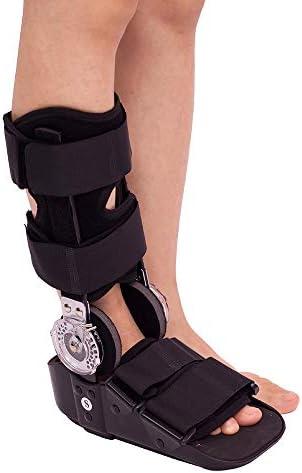 ウォーキングブーツ、フットブレースアンクルブーツアンクルウォーカーボーンケア痛み緩和フットブレースサポートアキレス腱アシストリハビリテーションエアカムウォーカー骨折ブーツチャックで調整可能