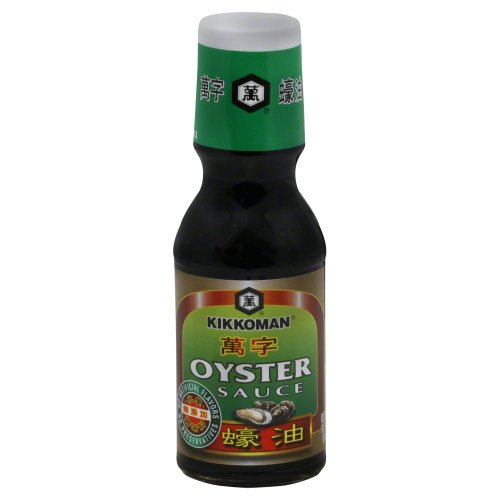 Kikkoman Green Label Oyster Sauce, 12.4 Ounce (Pack of 3)