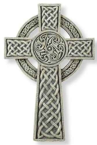 (Roman Celtic Irish Wall Cross 9 inch Joseph Studio by )
