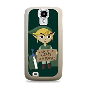 651 Will Cut Grass For Rupees Zelda Samsung Galaxy S4 Hardshell Case - White