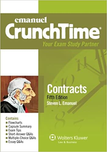 Crunchtime contracts fifth edition steven emanuel crunchtime contracts fifth edition 5th edition fandeluxe Image collections