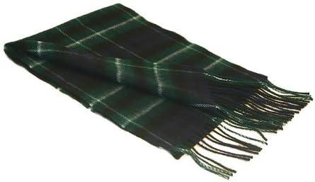 Lochcarron Graham Of Montrose Tartan Lambswool Scarf