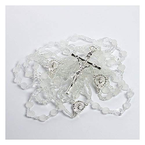 (The Heart Shaped Wedding Lazo - Lazo de Bodas Handcrafted Wedding Lasso - Lasso de Bodas. Made with heart shaped crystals and a variety of crystal beads)