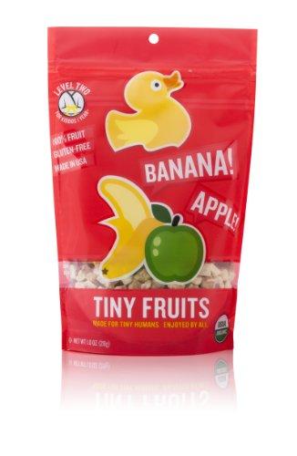 Little Duck Organics Tiny Fruits, Apple & Banana, 1-Ounce Po