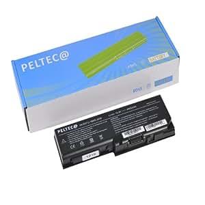 PELTEC@ - Batería de repuesto para portátil Toshiba Satellite P200 X200 X205 L350 L351 PA3536U-1BRS PA3537U-1BAS PA3537U-1BRS PABAS100 PABAS101, color negro
