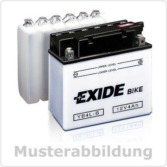 Exide Motorrad Batterie 12V 19Ah 190A YB16-B