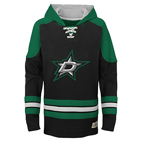 (NHL Dallas Stars Youth Boys Legendary Hoodie, Small(8),)