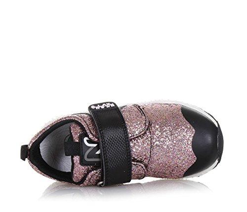 Et Fille Glitter Synthétique Basket Tissu Noire Filles Naturino En Rouge qPFHx6a