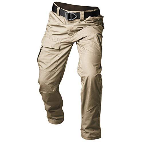 Plage Vrac Pantalon Eastery Simple Unie Occasionnels Couleur Latérales Denim En Kaki Longs Pantalons Avec De Poches Style Hommes Vintage BwxxqXCI