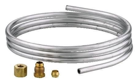 "Robertshaw 11-293 1/4"" Tubing with Fittings, 5"" Roll, Aluminum from Robertshaw"