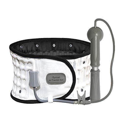 Leawell Decompression Back Belt FDA Approved Back Pain Relief Decompression Belt Back Belt Lumbar Support Back Stretch Belt, Inflated Belt, Character Spine, Size 29-49'' Waist