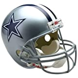 Riddell NFL Dallas Cowboys Deluxe Replica Football Helmet