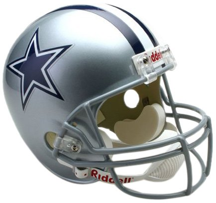 NFL Dallas Cowboys Deluxe Replica Football Helmet (Dallas Cowboys Deluxe Replica Helmet)
